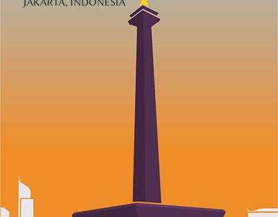 Jakarta Postcard
