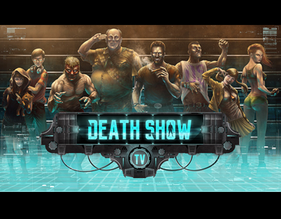 Death Show Project · Art Direction · Illustration