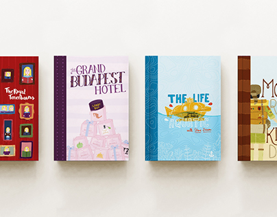 Wes Anderson Notebooks