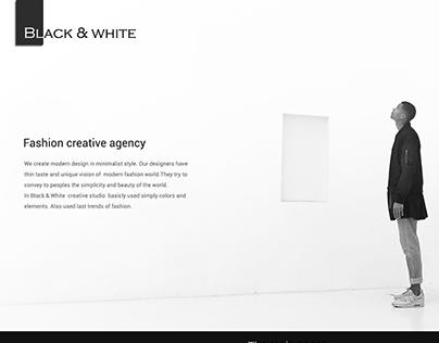 Black & White Fashion agency