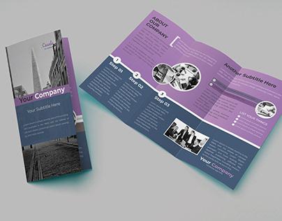 Tri-Fold-Brochure Template