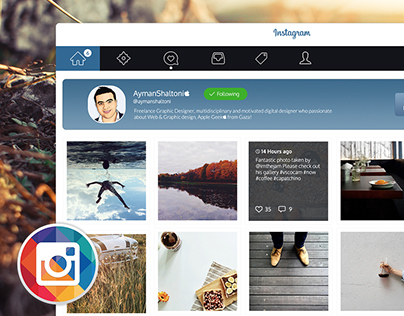 Instagram for MAC OS X