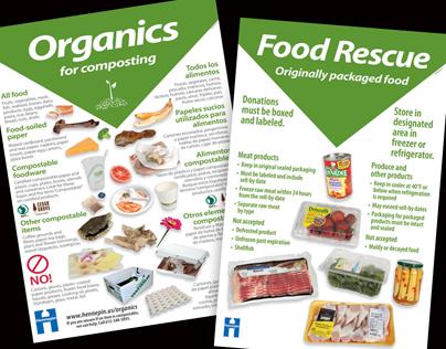 Posters: Organics & Food Rescue
