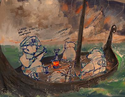 Arctic Wind Game Concept