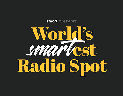 World's Smartest Radio Spot