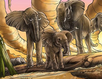 Muadi, the return of the Elephants