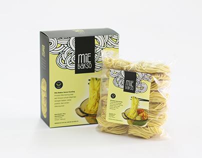 Janur Kuning Mie Bakso - Packaging Design