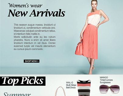 Newsletters & Banners - eCommerce