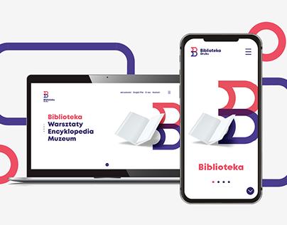 Biblioteka druku - Website & mobile