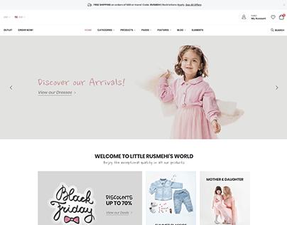 Baby Shop - WordPress