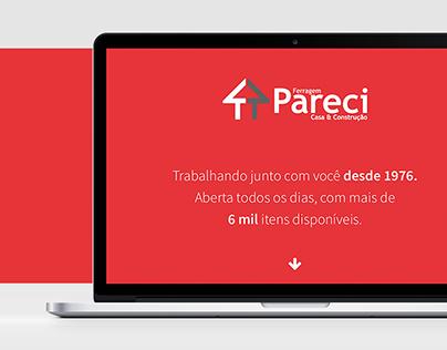 Ferragem Pareci | Website