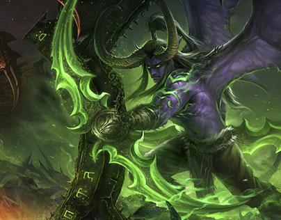 Etherside. Landing for private server World of Warcraft