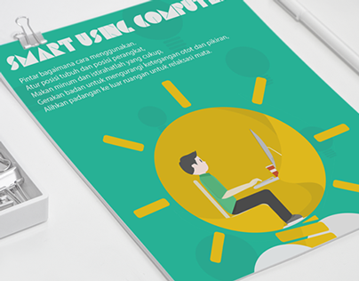 Smart Using Computer Poster