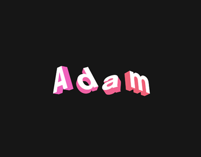 3D Name Animation