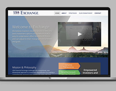 USA Financial Exchange Website
