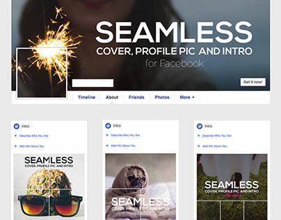 Seamless Facebook Cover + Profile / Intro Pic Creator