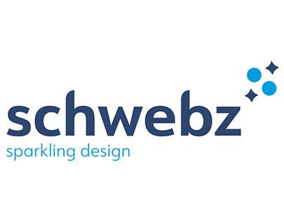 Logo for Schwebz - Sparkling Design