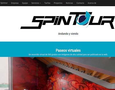 Maquetación web - Spintour.es
