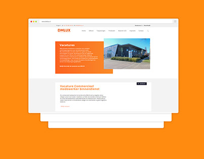DMLUX Corporate Website
