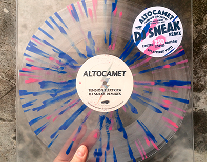 "ALTOCAMET / Tension Electrica 12"" Vinyl"