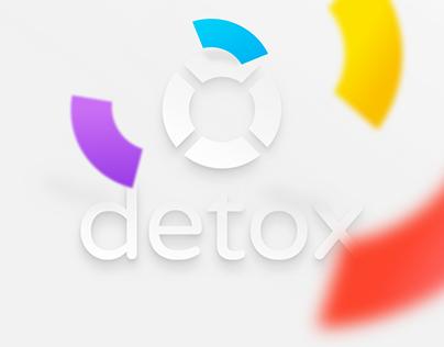 Detox.com Website & Logo