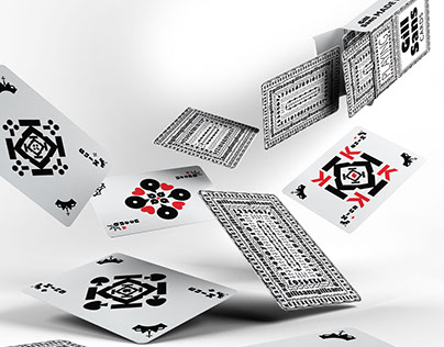 Gill Sans Playing Cards