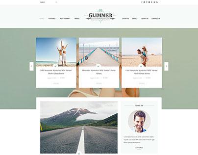 Glimmer Blog Layout