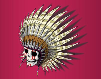 (GD) Cherokee skull