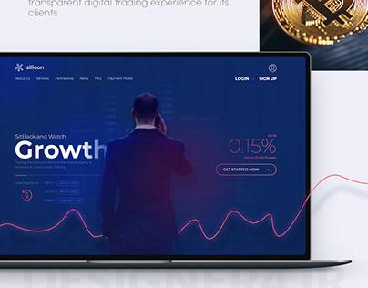 Investment Platform Web Design