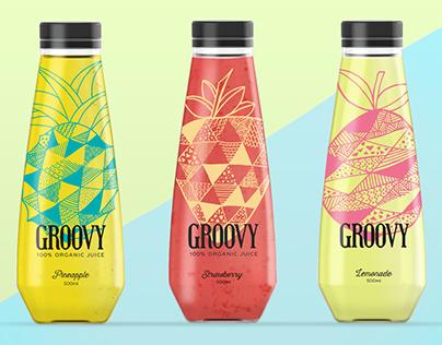 GROOVY - 100% ORGANIC JUICE
