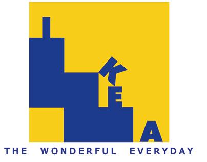 IKEA logo redesign.