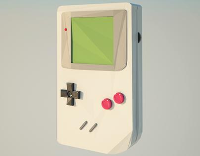 Game Boy Low Poly