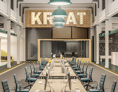 KREAT - Creative Office Interior Design