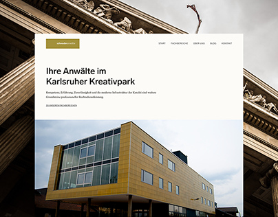 schneideranwälte — Law Firm Website