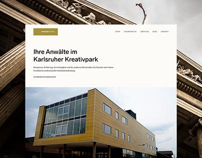 schneideranwälte — Law Firm Website