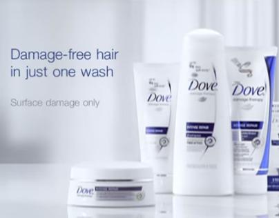 TVC - Dove Damage Repair Shampoo