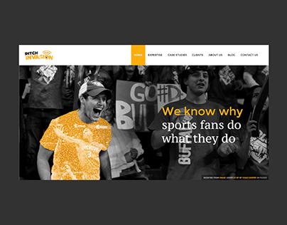 Corporate website for digital marketing firm