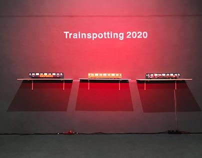 metro train for trainspotting 2020 in Minsk