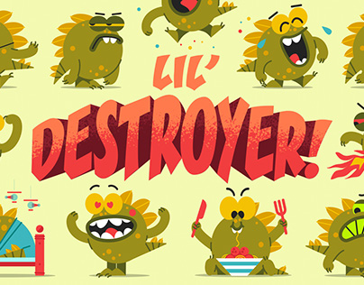 Lil' Destroyer! for Sticker.Place