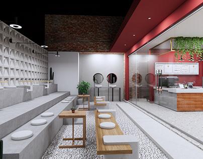 Kawa Coffee Shop Design Interior