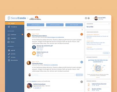 UX & UI | SocialCondo
