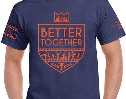 2018 KC Corporate Challenge Shirt Design