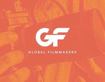 Global Filmmakers   Logo & Website Design