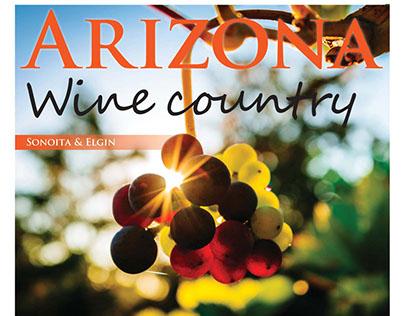 Arizona Wine Country, Page layout design