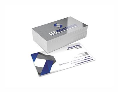 Logotipo e cartão visita