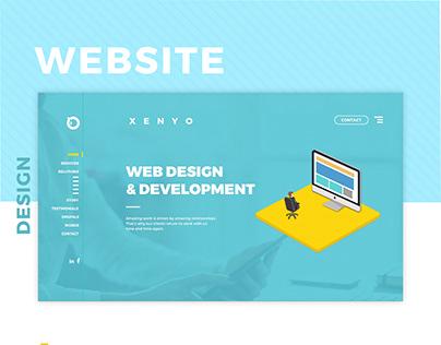 Design company website design
