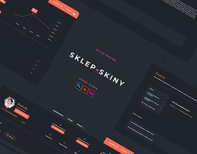 CS:GO - Skin Shop UI/UX
