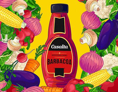 CASALTA Illustrated campaign
