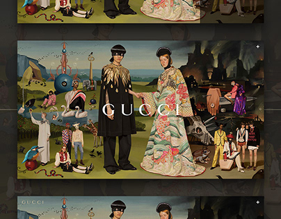 Gucci New Season Exclusive Web & App