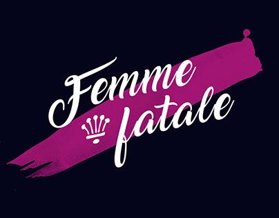 Femme fatale • Adobe Awards 2018